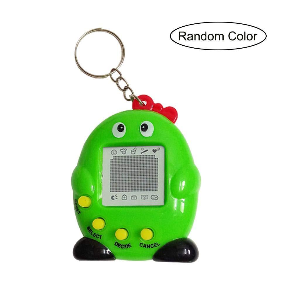 KOBWA Tamagotchi Virtual Pet, 90s Nostálgico Cute Original Máquina de Juego Electrónico, Niños Juguetes Digital Mascotas Llavero Regalo para Niños y Niñas, 1 Pieza (Color al Azar)