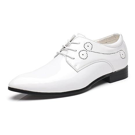 HILOTU ¡Despeje!Zapatos de Boda,Zapatos de Vestir de Charol ...