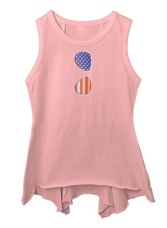 Murica USA Toddler//Youth Sleeveless Backswing Tcombo Sunglasses American Flag