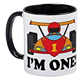Best UNIQUE Birthday Gift For 1 Year Old Boys - CafePress - Racing Car 1St Birthday Mug Review