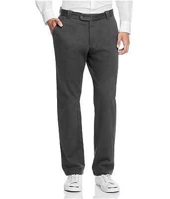 7b1d014f45c7 Bloomingdale s Mens Twill Casual Chino Pants Grey 32x34 at Amazon ...
