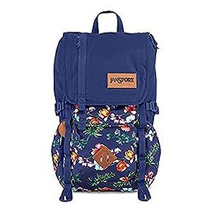 JanSport Hatchet Special Edition Laptop Backpack- Sale Colors (Multi Palm Denim)