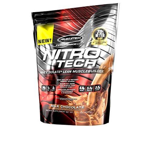 LD MuscleTech Nitrotech Performance Series 454g 1 lbs Milk Chocolate