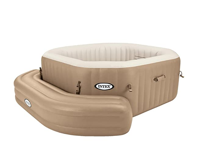 Intex 28509 Banco Hinchable para Bubble SPA Octogonal I.2: Amazon ...