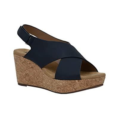 CUSHIONAIRE Women's Wedge Sandal: Shoes