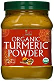 Organic Turmeric Powder - 1LB Jar - 100% Raw w/Curcumin From India -...