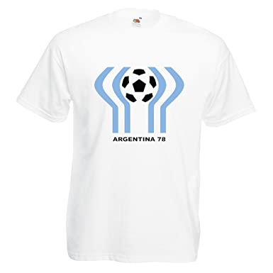 1e7d1682810 Mens World Cup Argentina 78 T-shirt
