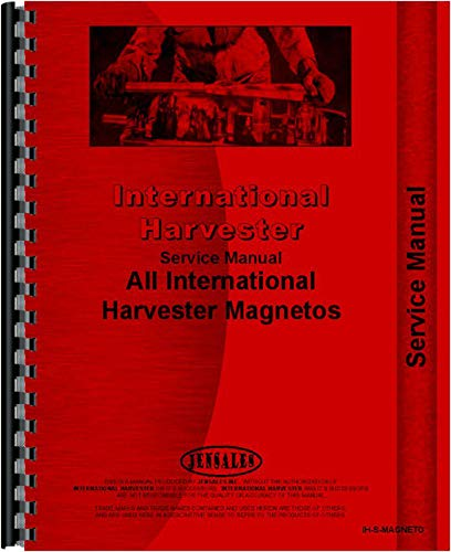 International Harvester H4 Magneto Service Manual for sale  Delivered anywhere in USA