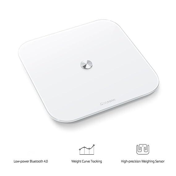 yunmai se Smart Balanza Báscula Embarazo con BMI Medición & Aplicación para iPhone y Android: Amazon.es: Salud y cuidado personal