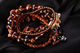 Set Of Women's Bracelets With Natural Stones