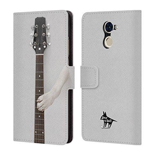 De The Guitare Coque Bull Officiel Étui En Jimmy 2 Patte Nom Livre Huawei Cuir 2017 Pour Chien Y7 Prime TXWW5FAn