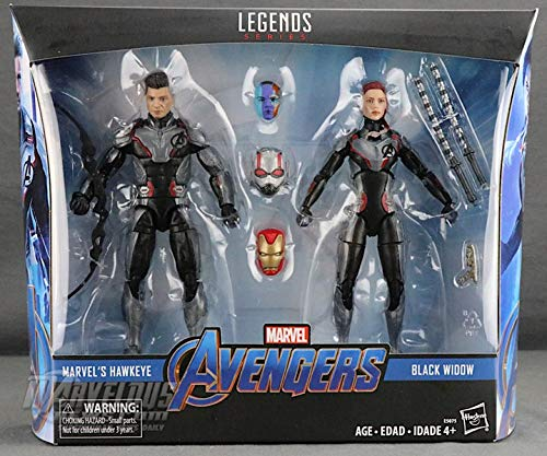 MV Avengers: Endgame Hawkeye and Black Widow Target Exclusive -