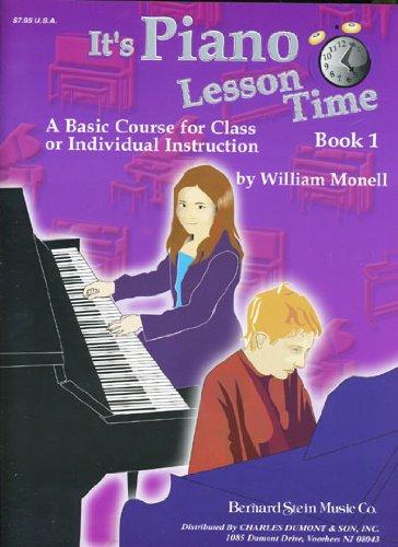 It's Piano Lesson Time Book 1 pdf epub