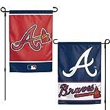 WinCraft Atlanta Braves Flag 12x18 Garden Style 2 Sided
