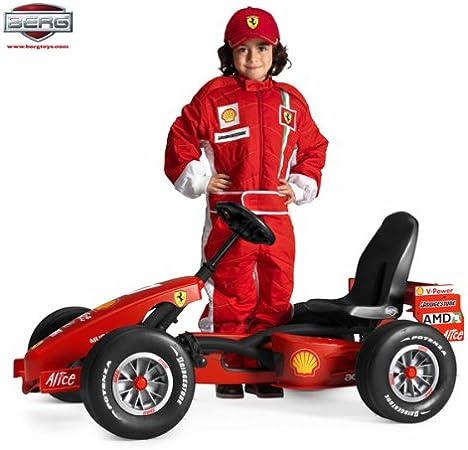 Berg 242344 Buddy Ferrari Pedal Go Kart Amazon De Spielzeug