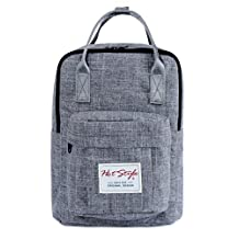 [HotStyle Basic Classic] Bestie Cute Diaper Bag Backpack for Mom (14 Liters), Grey