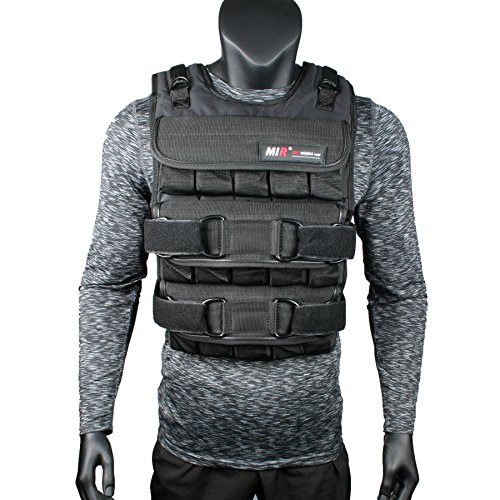 Mir Adjustable Weighted Vest (45lbs - 140lbs) (PRO 60LBS)
