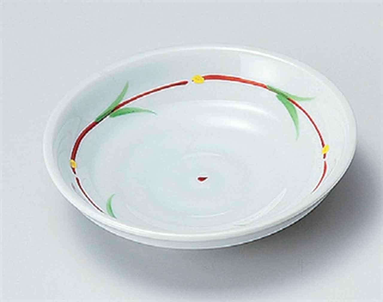 Wakame Seizi 16.3cm Set di 5 Piattos medio porcelain Hecho en Japon