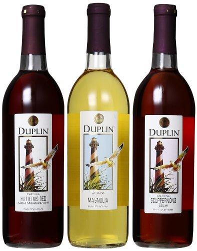 Duplin Winery Favorites Sampler Mixed Pack 3 x 750 mL