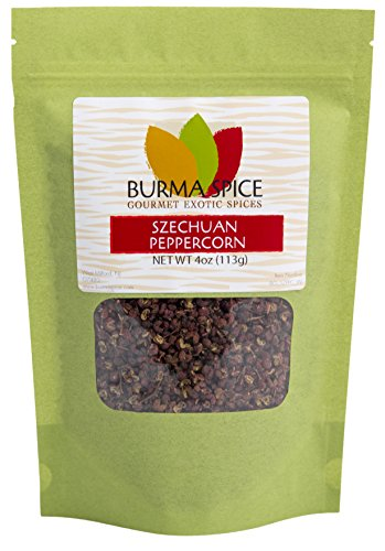 Szechuan Peppercorns, Authentic and Highest Grade, Kosher (4oz.)