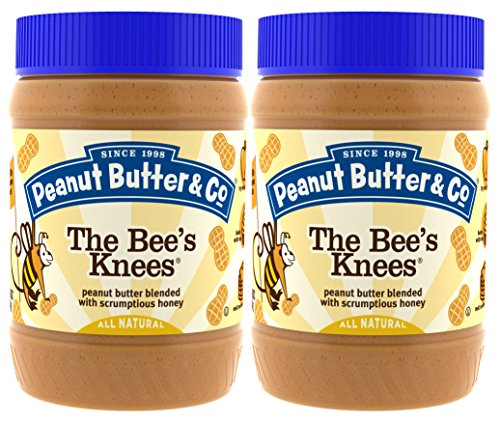 Melt Peanut Butter (Peanut Butter & Co. Peanut Butter, Gluten Free, The Bee's Knees (Honey), 16 Ounce Jars (Pack of 2))