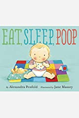 Eat, Sleep, Poop Library Binding