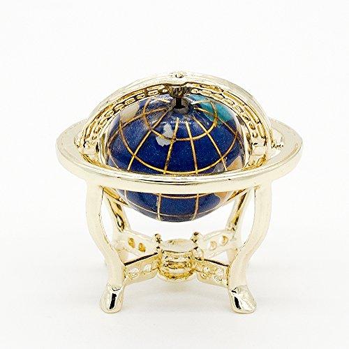 Miniature Antique (Odoria 1:12 Miniature Globe With Golden Stand Rolling Globe Dollhouse Furniture Accessories)