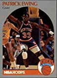 1990 Hoops Basketball Card (1990-91) #203 Patrick Ewing Near Mint/Mint
