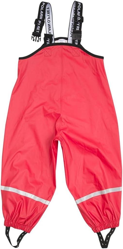 Polarn O. Pyret Waterproof Suspender RAIN Pants (6-8YRS)