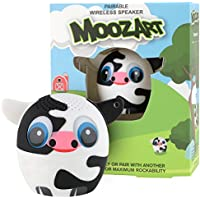 My Audio Pet Mini Bluetooth Animal Wireless Speaker with TRUE WIRELESS STEREO TECHNOLOGY – Pair with another TWS Pet for Powerful Rich Room-filling Sound – (MOOzart)