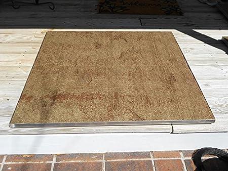 Deckprotect 30 X 30 Fire Pit Mat Rack Amazon Ca Patio Lawn Garden