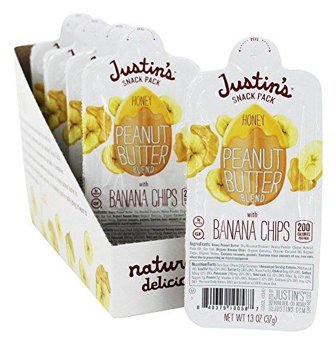 JUSTINS Nut butter Peanut Honey Banana, 1.3 (Peanut Butter Banana Honey)