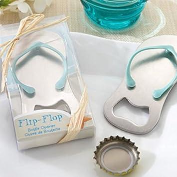 c7b619e3e Wedding Gift Wedding Favor Flip-flop Sandal Bottle Opener Slipper Wine  Opener in Gift Box Beer Bottle Opener  Amazon.co.uk  Kitchen   Home