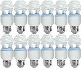 GE Reveal CFL 10 Watt (40 watt replacement) Spiral Light Bulb with Medium Base (12 Bulbs)