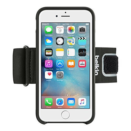 - Belkin Sport Clip-Fit Armband for iPhone 6s / 6 ( Black )