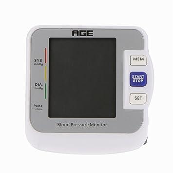 Age BW de 601 2,2 LCD Automática muñeca monitor de presión sanguínea Pulso