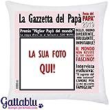 Cuscino Con La Foto Prezzo.Cuscino Festa Dei Nonni Diventare Papa E Bellissimo Diventare