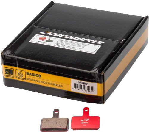 Jagwire Mountain Sport Disc Pads Deore M515 M515-M M515-LA M525 M515-LA-MC501 Bo by Jagwire