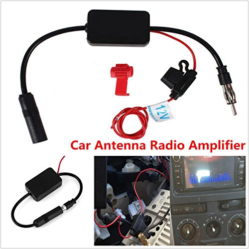 Auto Antenna Booster - DC 12V CAR TRUCK STEREO ANTENNA FM AM RADIO INLINE SIGNAL AMP AMPLIFIER BOOSTER