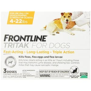 Merial Frontline Tritak Pest Control for Dogs and Puppies, 4 to 22-Pound 81