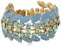 "Carolee ""California Girls"" Wide Drama Bracelet, 7.25"" by Carolee"