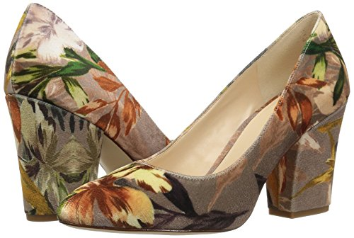 Taupe Mujeres Nine Multi Zapatilla Talla Floral West UFUqAwv