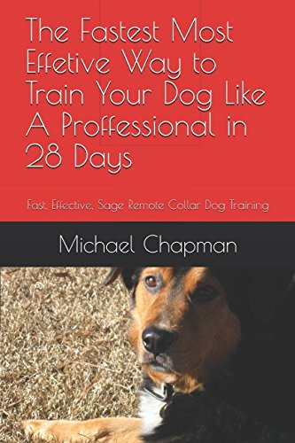 The Fastest Most Effective Way to Train Your Dog Like A Proffessional in 28 Days: Fast, Effective, Safe Remote Collar Dog -