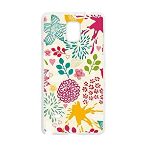 Cartoon Flower Phone Case for Samsung Galaxy Note4