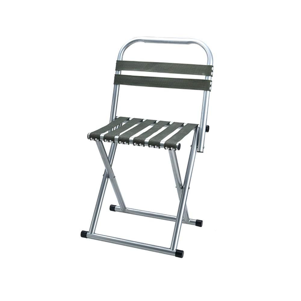 屋外折りたたみスツール釣り/スケッチ折りたたみ椅子家庭用背もたれ椅子ポータブル GW (色 : アーミーグリーン, サイズ さいず : 38×31cm) 38×31cm アーミーグリーン B07PGF3NVM