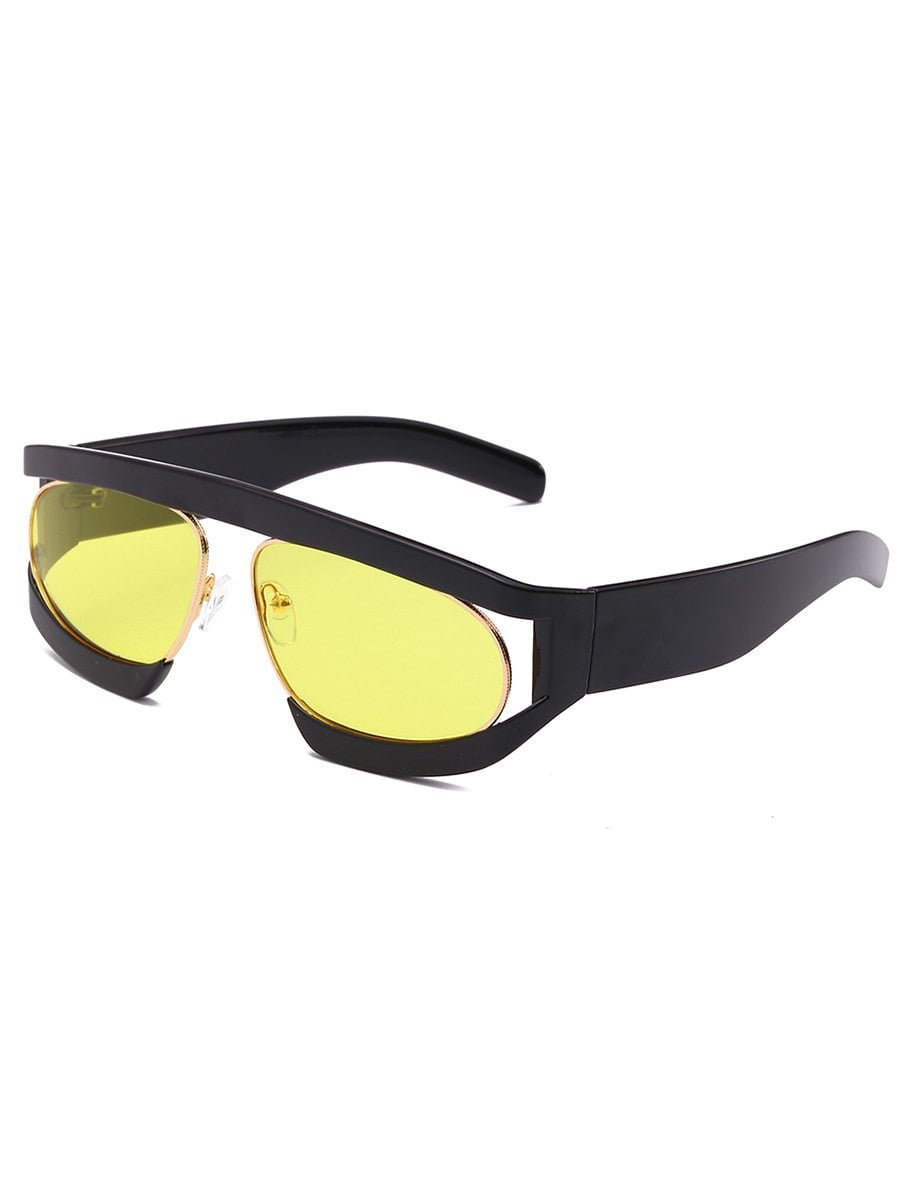 sundy Anti Müdigkeit Doppel-Bilderrahmen, Oval Sonnenbrille: Amazon ...