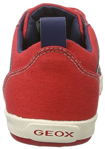 Geox Jr Kiwi N, Zapatillas Para Niños Rojo (Red/dk Bluec7v4m)