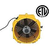Zoom Axial Floor Dryer 1/4 HP Commercial Quality Floor Dryer