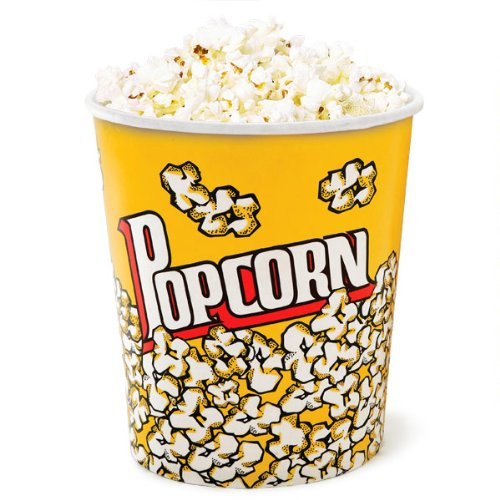 Popcorn Cups Large 130oz - Set of 2 | Popcorn Buckets, Popcorn Boxes, Popcorn Tubs Eddingtons