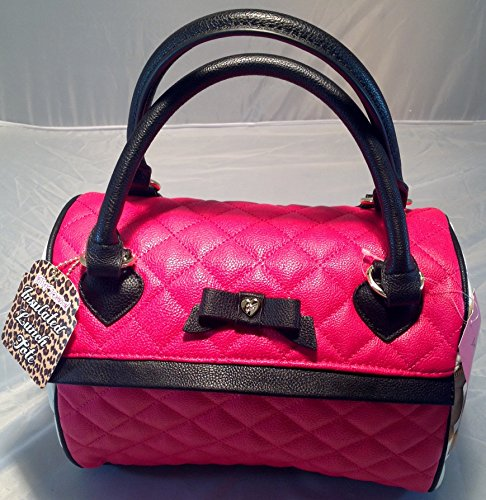 quilt bag leather handle - 9